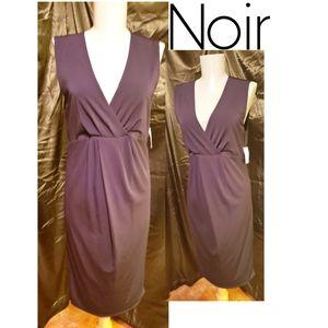 Noir maternity blk dress.  Sz Sm